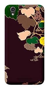 TrilMil Printed Designer Mobile Case Back Cover For Lava Iris Atom 3