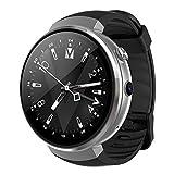 HECHEN Smart Watch Android 7.0 Reloj Inteligente LTE 4G Reloj Inteligente 1Gb + 16Gb Herramienta De Traducción De Memoria Y Cámara Detección De Frecuencia Cardíaca,B