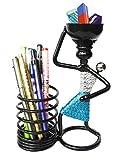 #9: mothers love pen stand/pen holder/pen organizer (BLACK)