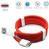 Le Eco Le 2 / LeEco Le2 C USB Type C Cable, USB Type-C DASH Cable, Fast Adaptive C Cable C Type Cable Charging Cable, Data Cable,Usb Cable , Sync Cable High Speed Original C Type Usb Data Charging Cable DASH 1 Meter Length (Red)