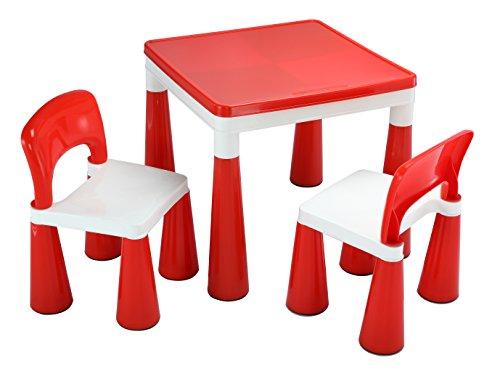 Liberty house toys 2 in 1 per attivit tavolo e 2 sedie for Amazon tavoli