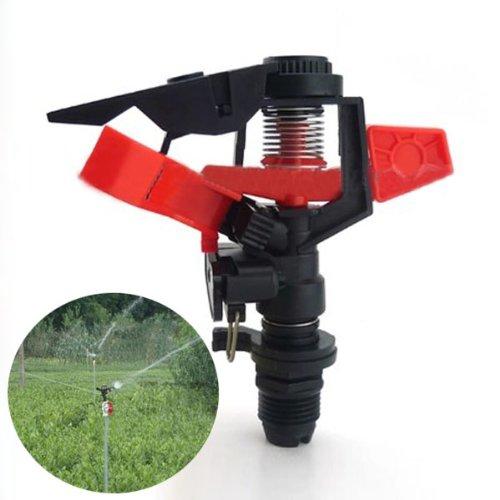 MaMaison007 Angolo di controllabile plastica rotante ugello prato irrigazione
