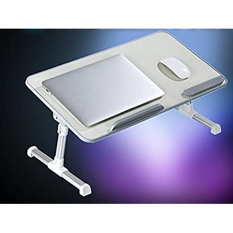 LLYY-Scrittorio del computer portatile di moda letto dormitori con una tabella semplice moderno pigro pieghevole tavolino libro di sollevamento