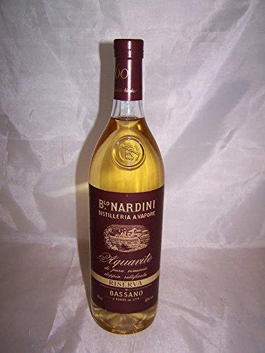 Grappa Aquavite Riserva 60% Vol. 1 Litro Nardini Bortolo