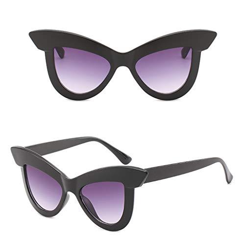 Makefortune Sonnenbrille, Mode Katzenaugengläser Mens Womens Retro kleine ovale Sonnenbrille Metallrahmen Shades Eyewear kleinen Rahmen Brillen Sonnenschutz für Reisen fahren