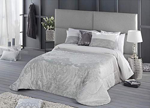 Antilo Artis Couvre-lit avec 2 taies d'oreiller 60 x 40 cm Beige
