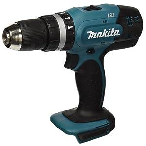 Makita Lithium-Ionen-Combi Drill, nur Gehäuse, DHP453Z, 1 W, 18 V, Blau, Silber, 7.9 x 23.2 x 22.7 cm