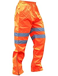 Portwest Herren Hi Vis Safety Hose Traffic GO/RT