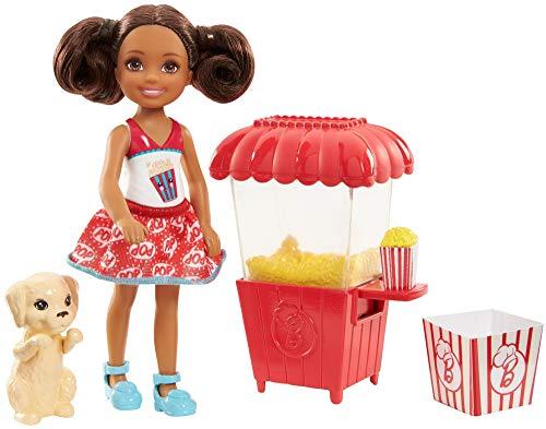Barbie Chelsea Junior, muñeca y puesto de...