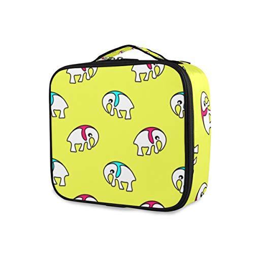 SUGARHE Nahtloses Muster Illustrations Geschenkpapier,Make Up Bag, Kosmetik Reise Kulturbeutel Täschchen mit Lagerung