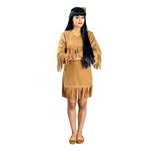 Günstige Pocahontas Kostüm - Körner Festartikel NEU Damen-Kostüm Indianerin Adlerauge