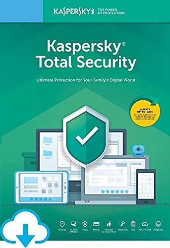 Kaspersky Total Security 2020 | 3 dispositivos | 1 año