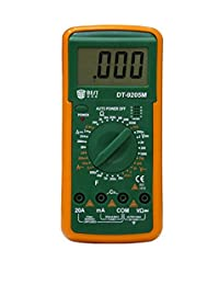 Tradico® Best DT9205M LCD AC DC Volt AMP OHM Electrical Digital Multimeter One Piece