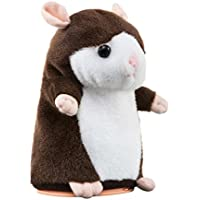 FREE UK Delivery - UPXIANG 64GB Memory Interesting Mimicry Speaking Talking Pet Hamster Plush Kids Toys, Repeats What You Say Cute Electronic Mouse Animals Speaking Record Toys, 15 x 9 CM - Compare prices on radiocontrollers.eu