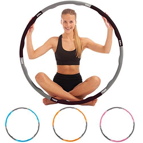Fitness-Hula-Hoop-Reifen von just be…® Schwarz