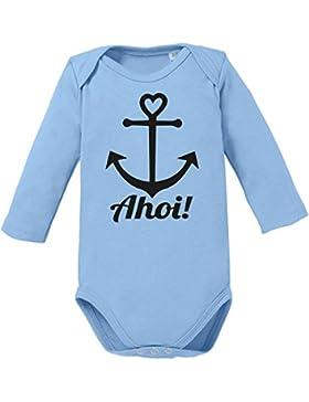 Ahoi Anker - Bio Baby Langarmbody