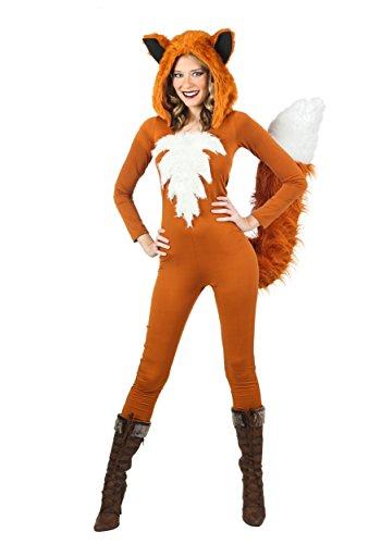 Sexy Fierce Fox Fancy dress costume (Faux Kostüm Fox Tail)