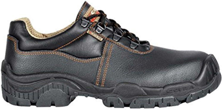 Cofra Reims S3 SRC par de zapatos de seguridad talla 46 NEGRO