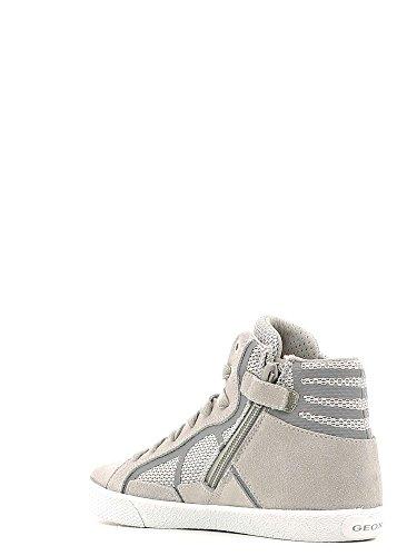 Geox - J Smart Boy C, Sneaker alte Bambino Grey