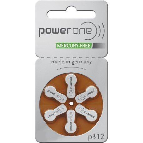 Varta Powerone p312 Hörgerätebatterie (Quecksilberfrei) 60 BATTERIEN