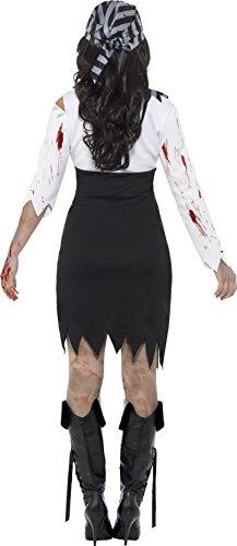 Imagen de smiffy 's–disfraz de mujer de halloween zombie pirate lady x1  alternativa