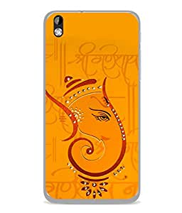 Fuson Designer Back Case Cover for HTC Desire 816 :: HTC Desire 816 Dual Sim :: HTC Desire 816G Dual Sim (Hindu Religious Dharm Spiritual Temple Son Of Shivay Vighnharta Shree)