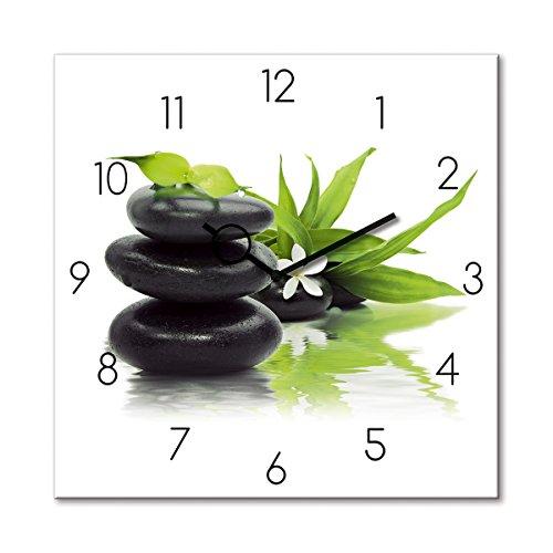 a Arrangement, Zen, Steine, weiß, 30x30 cm von Eurographics (Spa Steine)