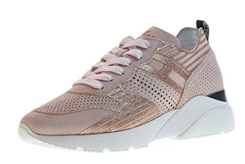 Hogan Scarpe Donna Sneakers Basse HXW3850BM40FFY0ZB8 Active One H385 Taglia 36 Rosa
