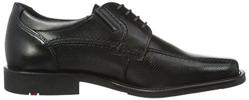Lloyd Kalani Extra-weit, Chaussures À Lacets Pour Homme Noir (noir)