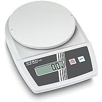 Balanza de laboratorio para principiantes con fantásticas prestaciones de pesaje [Kern EMB 5.2K1] , Campo de pesaje [Max]: 5200 g, Lectura [d]: 1 g