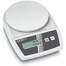 Balanza de laboratorio para principiantes con fantásticas prestaciones de pesaje [Kern EMB 500-1