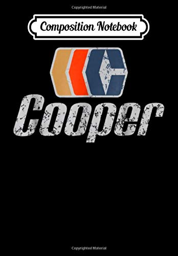 Composition Notebook: Cooper Hockey T, Journal 6 x 9, 100 Page Blank Lined Paperback Journal/Notebook