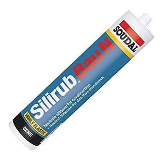 Soudal Silirub Bau N Bausilikon Silikon Dichtstoff 310ml Kartusche (braun)