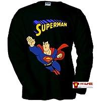 Comparador de precios Camiseta Superman (Retrogame) Negra (Talla: Talla XL Unisex Ancho/Largo [58cm/76cm] Aprox]) - precios baratos