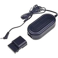 AC adaptateur - SODIAL(R)Noir ACK-DC20 remplacement AC adaptateur pour Canon S80 S70 S60 S55 S50 S45 S40 G7 G9 EOS 350D 400 D Digital Rebel XT et Xti