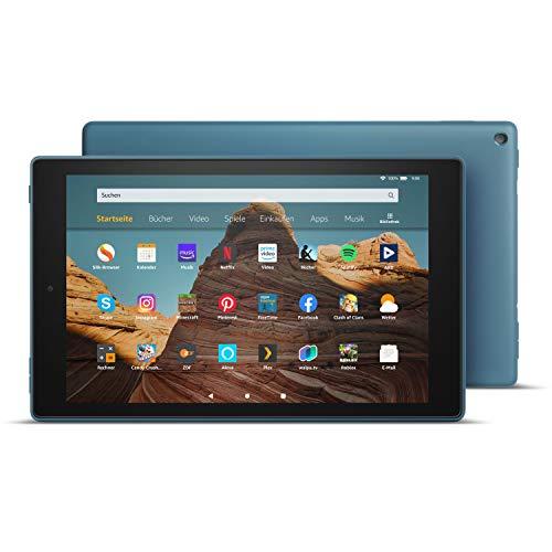 Das neue FireHD10-Tablet│10,1Zoll großes FullHD-Display (1080p), 64 GB, Dunkelblau mit Spezialangeboten