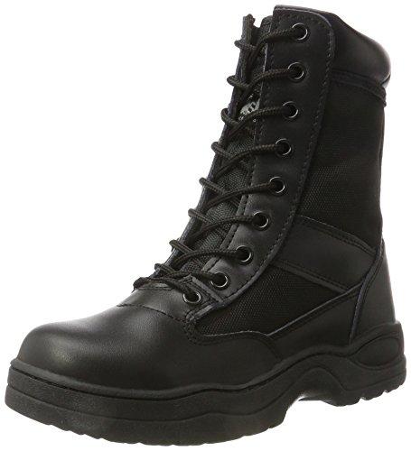 McAllister Polizei GSG9 Einsatzstiefel Army Outoor Boots Securitystiefel verschiedene Ausführungen Schwarz