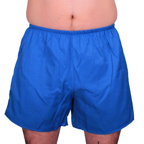 FTSD - FindTheSecretDreams Herren Turnhose DDR Stil 117A Blau 13 5XL (Blaue Retro 13)