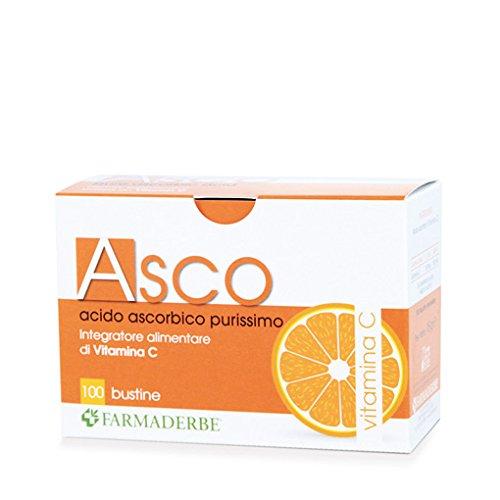 Asco -acido ascorbico purissimo (vitamina C) 100 bustine