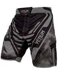 Venum MMA Técnico Shorts De Artes Marciales Negro/Gris - Nuevo - Large