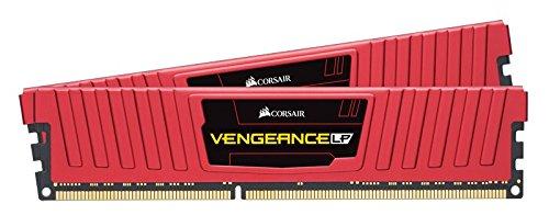 Corsair Vengeance LPX Memorie per Desktop a Elevate Prestazioni, 8 GB (2 X 4 GB), DDR4, 2400 MHz, C16 XMP 2.0, Rosso