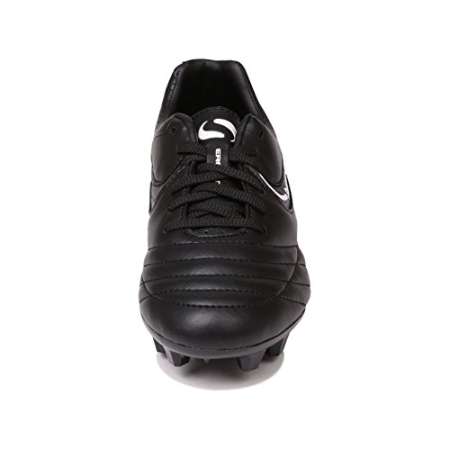 Sondico Kids Strike II Firm Ground Football Boots Black White UK 6
