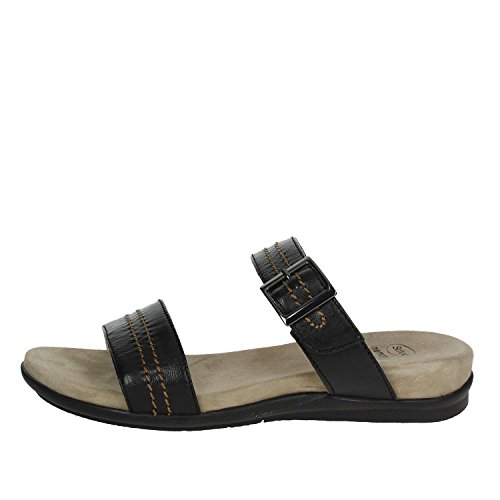 Scholl scarpe donna sandali shaula in pelle nero f26638-1004-390