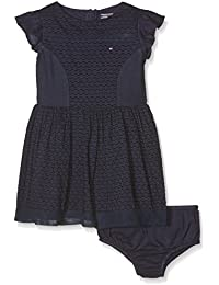 Tommy Hilfiger Dobby Mix Dress S/S, Robe Fille