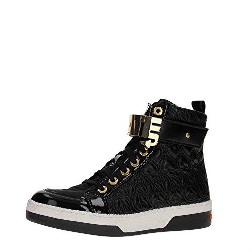 Love Moschino JA15023G12I Sneakers Donna Pelle Nero Nero