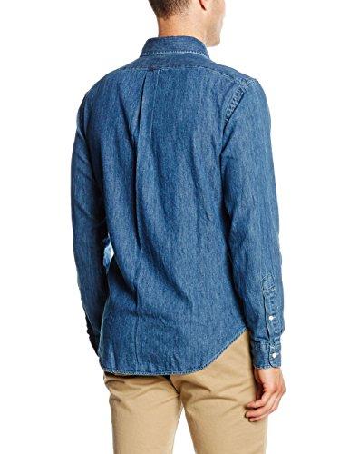 Polo Ralph Lauren, Camicia Uomo Blau (DARK WASH A4809)
