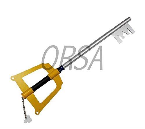 Kingdom Hearts Sora key blade wooden full-length 87cm Cosplay Halloween (Halloween-sora Cosplay)