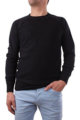 Diesel camicia a maniche lunghe s-lurp maglietta uomo (l, nero)