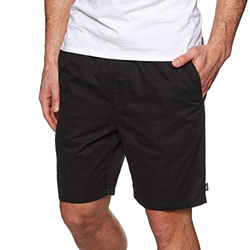 Vans Herren Shorts Range, Schwarz (Black BLK) W38 (Herstellergröße: L) - Vans Shorts Schwarz