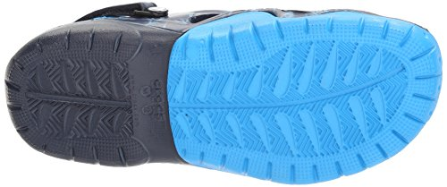 crocs Swiftwater Clog, Herren Clogs, Schwarz (Black/Charcoal 070), 43/44 EU (9 Herren UK) Blau (Navy/Ocean)